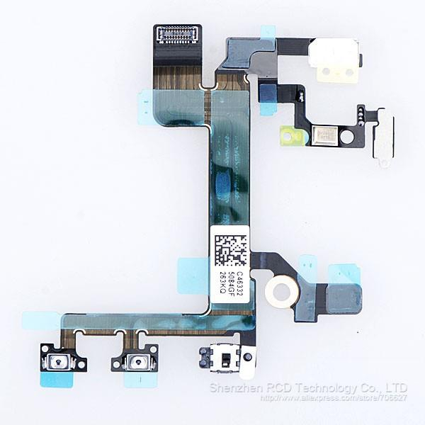 100%Original Power On Off Volume and Mute Control Flex Cable iphone 5S