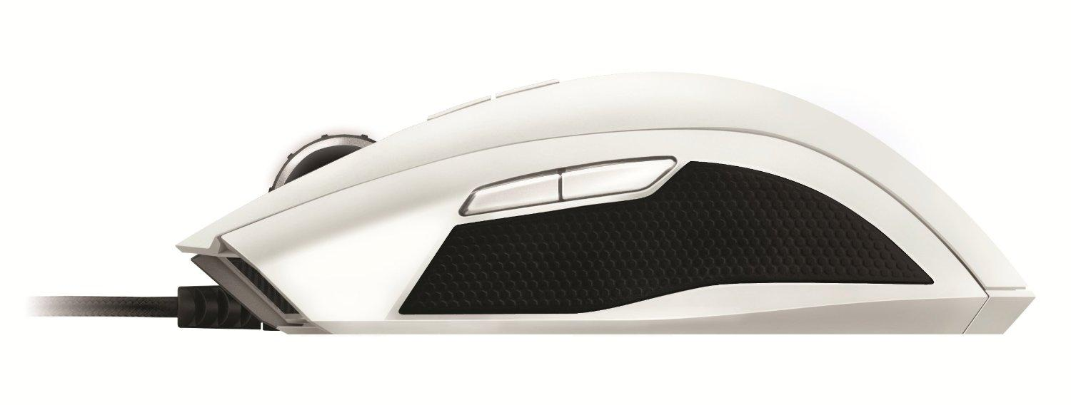 100% Original Razer Taipan Ambidextrous PC Gaming LED Mouse - White
