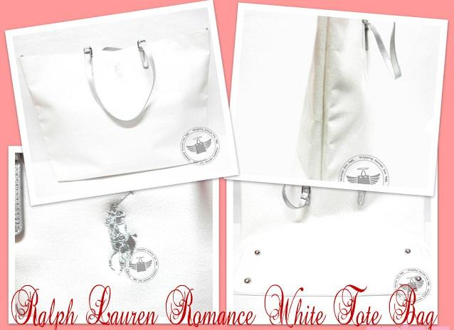100% Original - RL Romance White Tote Bag (Large)