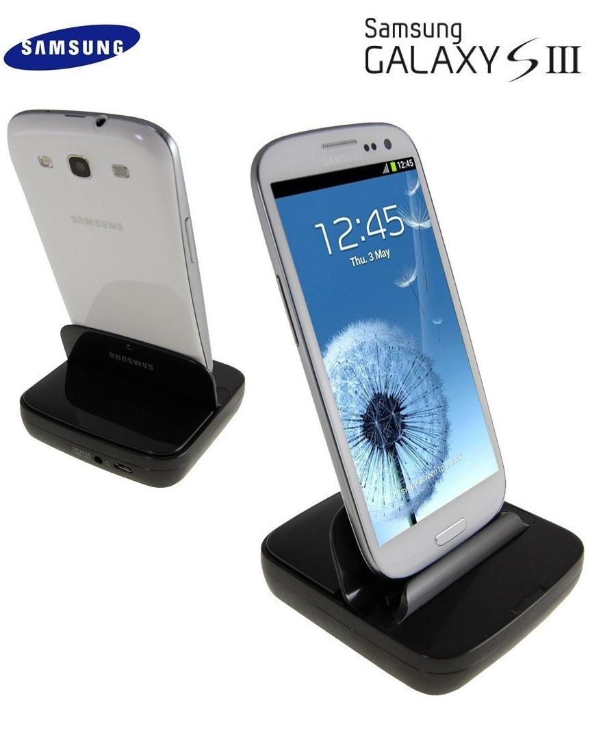 100% Original Samsung Galaxy S3 SIII i93000 Desktop Dock Cradle