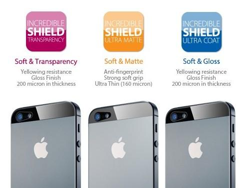 [100% Original] Spigen SGP Incredible Shield for Iphone 5
