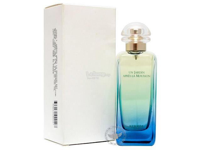 *100% Original Tester Unit*Hermes Un Jardin Apres La Mousson 100ml Edt