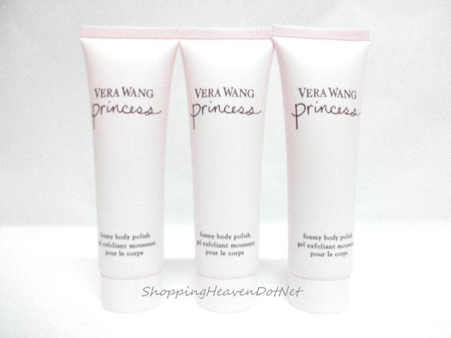 *100% Original* Vera Wang Princess Foamy Body Polish 30ml x1
