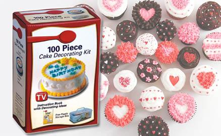 100 Pcs Cake Decorating Kit For Cake Decorater/ Maker