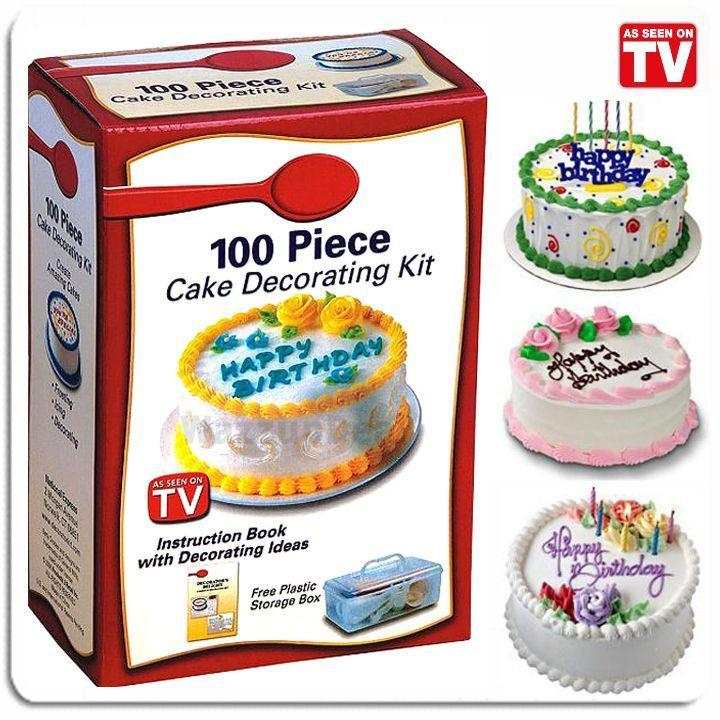 Cake Decor Kit : 100 Piece Cake Decorating Kit (end 1/18/2018 2:15 PM - MYT )