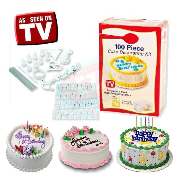100 pieces cake decorating kit (end 6/24/2016 3:15 PM)