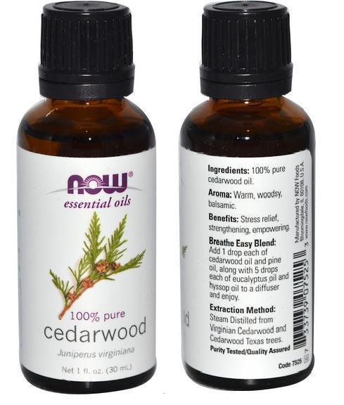 100% Pure Essential Oil Cedarwood Oil, Made in USA (30ml)