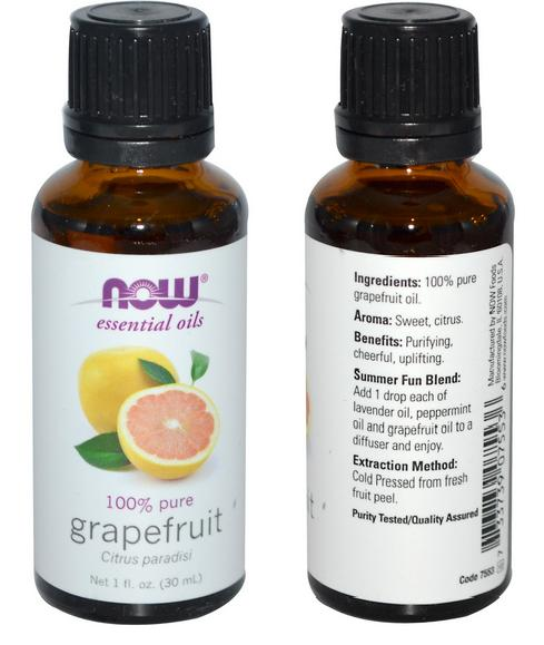 100% Pure Grapefruit Essential Oil, Made in USA (30ml)