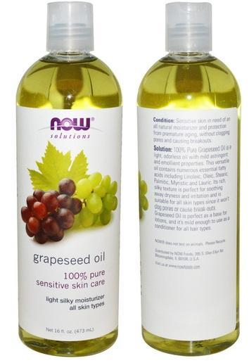 100% Pure Grapeseed Oil, Made in USA (473ml)