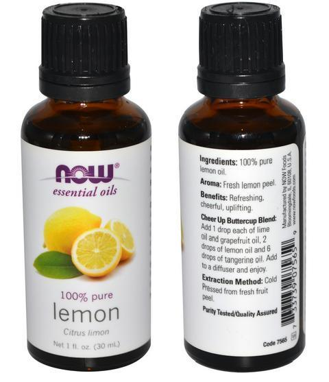 100% Pure Lemon Essential Oil, Made in USA