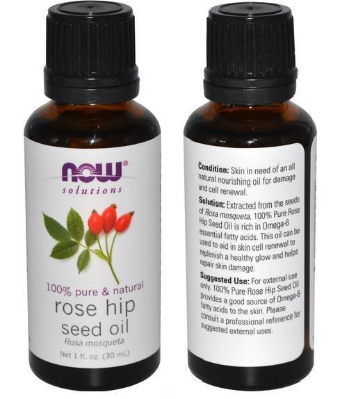 100% Pure & Natural Rose Hip Seed Oil, Rosehip, Made in USA (30ml)
