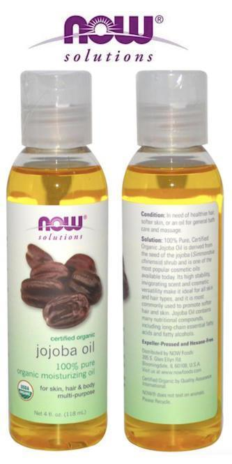 100% Pure Organic Jojoba Moisturizing Oil, Made in USA (118ml)