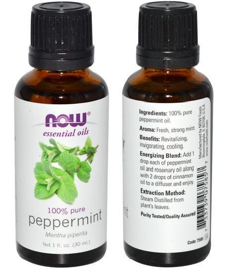 100% Pure Peppermint Essential Oil, Made in USA (30ml)
