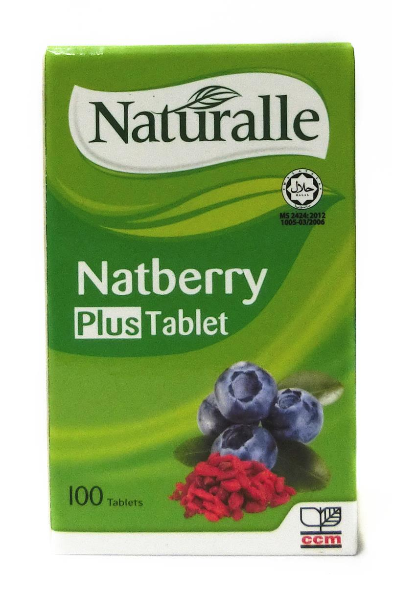 100's Naturalle Natberry Plus Tablet