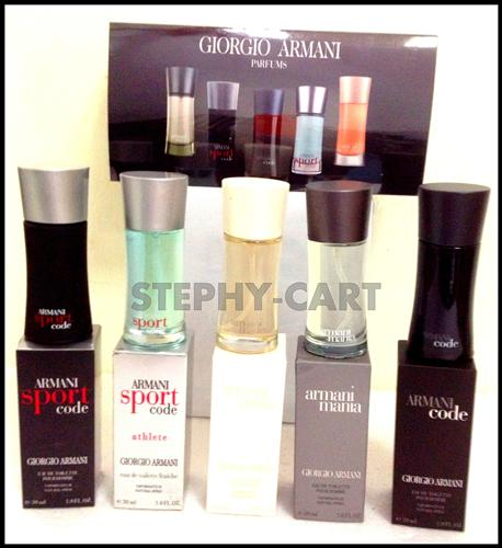 100% SINGAPORE ORIGINAL VALENTINE GIORGIO ARMANI GIFT SET FOR HIM !!