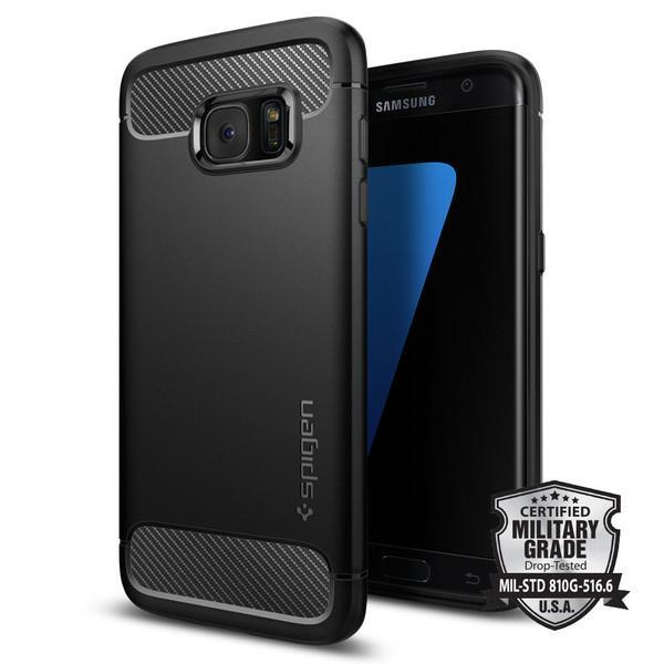 100% Spigen Samsung Galaxy S7 Edge Rugged Armor Case Cover Casing 2
