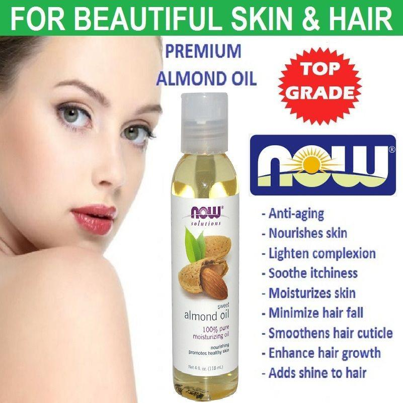 100% Sweet Almond Oil, 118 (Made in USA)