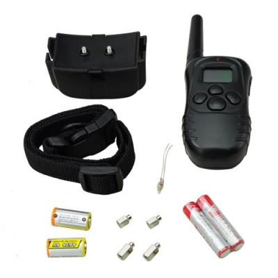 100level 1 Dogs 300 meters Remote Vibrate /Shock Electric Pet Dog Trai