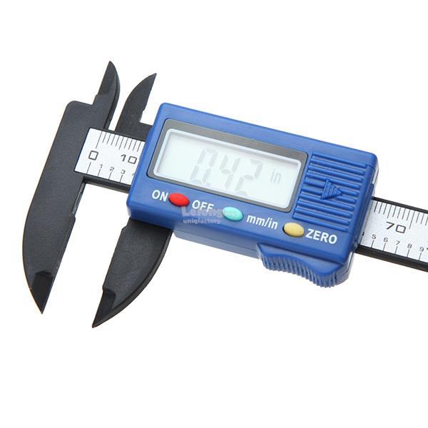 100mm High Precision Carbon Fiber Composites Digital Vernier Caliper