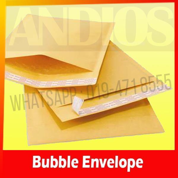 100pc-Air Double Layer Bubble Wrap Envelope Mailer MEDIUM 185x240mm