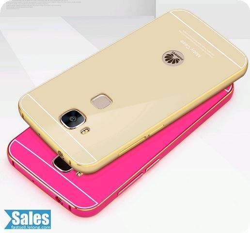 ➤ Huawei G7 Plus Metal aluminium Back Casing Case Cover
