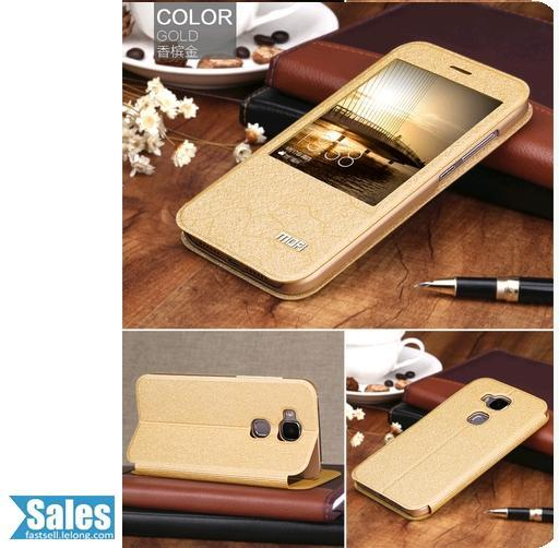 ➤ Huawei G8 Window Leather TPU Casing Case Cover