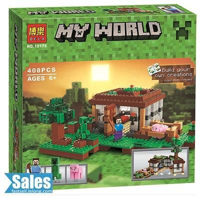 ➤ LEGO COMPATIBLE BELA MY WORLD MINECRAFT THE MINE 10176