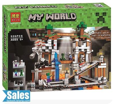 ➤ LEGO COMPATIBLE BELA MY WORLD MINECRAFT THE MINE 10179