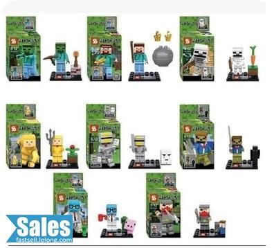 ➤ LEGO COMPATIBLE MY WORLD MINECRAFT THE MINE 8 Characters