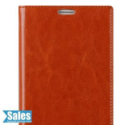 ➤ Oppo R7 5.0'' Genuine Cow Leather Casing Case Cover