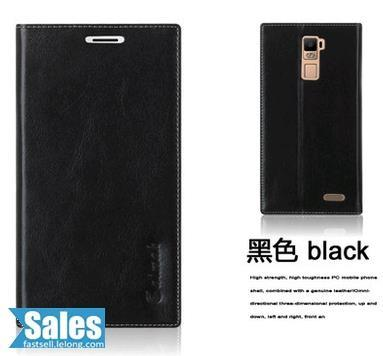 ➤ Oppo R7 Plus 6.0'' Genuine Cow Leather Casing Case Cover