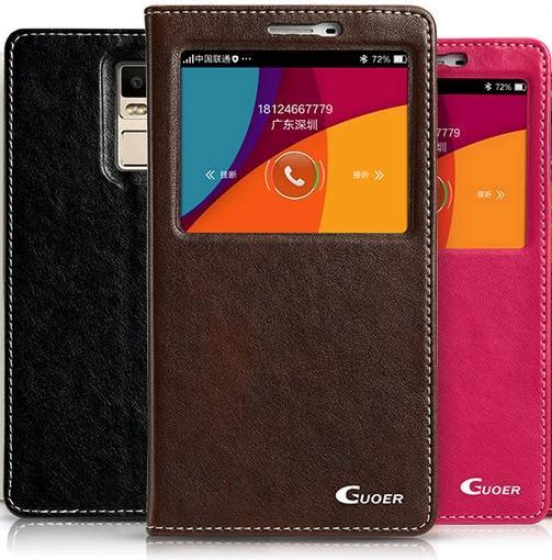 ➤ Oppo R7 Plus Window PU Leather Casing Case Cover