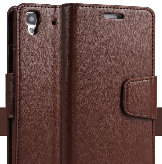 ➤ Oppo R7 Real Leather Casing Case Cover
