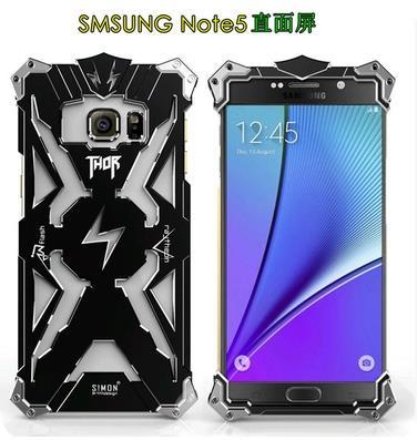 ➤ Samsung Note 4/Note 5 Thor Metal Frame Casing Case