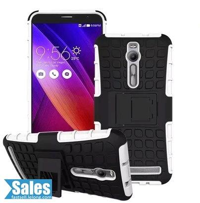 ➤ Zenfone 2 Hard Armor Colorful Standing Casing Case Cover