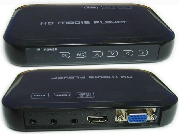 hd multi media player full hdmi 1080p
