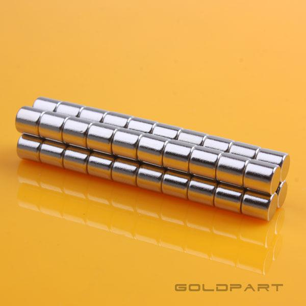 10pcs D5×5mm Neodymium Magnets 1/5' 1/5' Disk Rare Earth N35