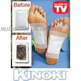 10pcs Kinoki Detoxification Foot Patch With Adhesive As Seen On TV!