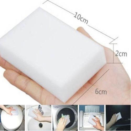 10PCS Magic Sponge Eraser Cleaning Melamine Multi-functional Foam
