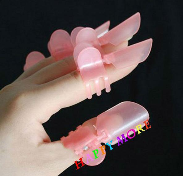 10pcs/set Nail Protection Clip Cover nail polish
