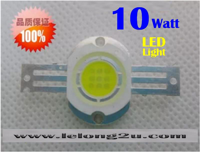 10Watt HIGH POWER LED LIGHT 1000LM WARM LIGHT (2 PCS)