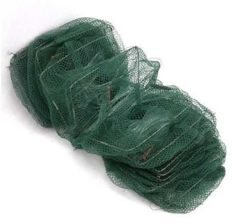 11 Sections Catch Shrimp Net Fish Trap fishing Cage Dip Net