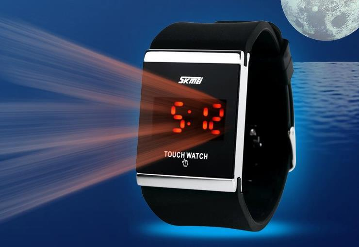 Jelly Touch Watch 【aeiou】led Touch Watch Jelly