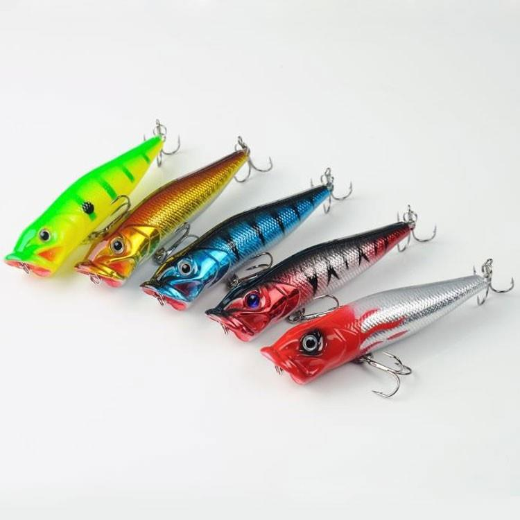 12gram Popper Fishing Lure Fishing Baits Top Water Salt Water