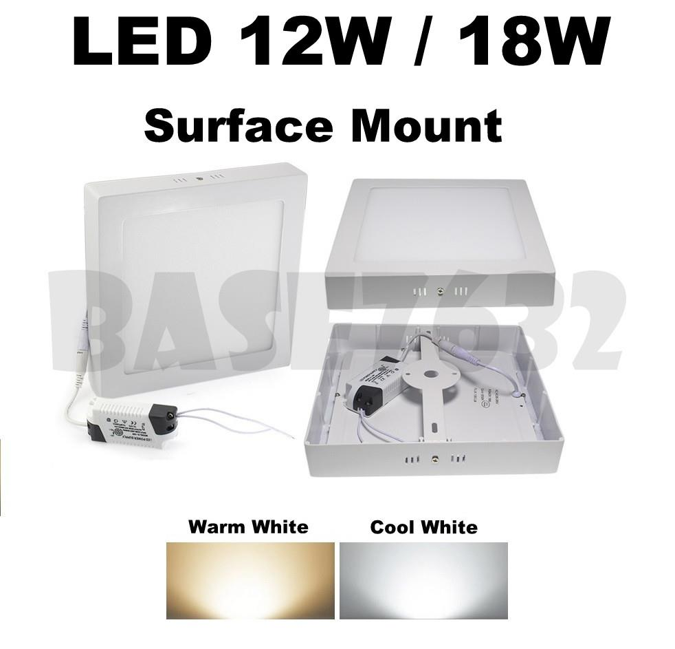 12W 18W Led Ceiling Panel Surface Mount Downlight Wall LED Light Bulb