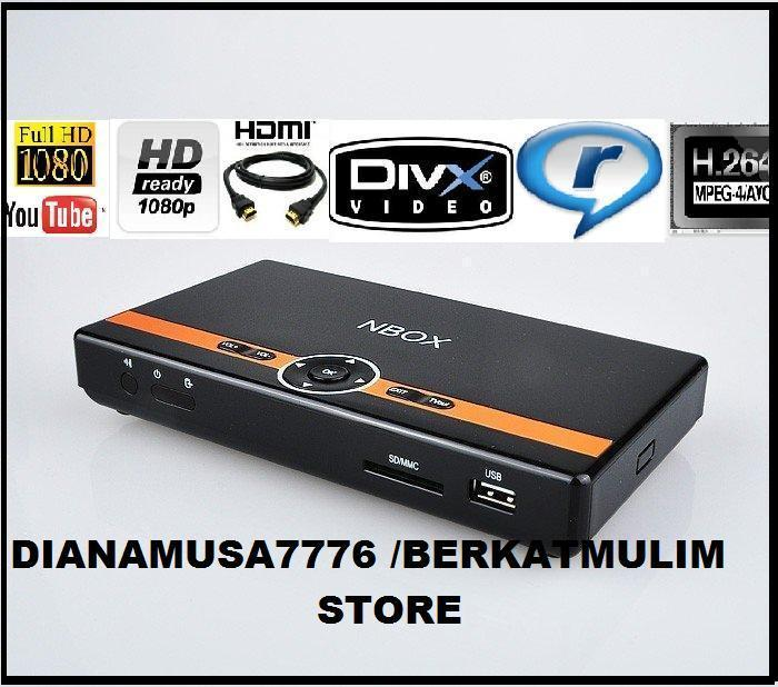 13/8/2012*Full HD 1080 Media Player NBOX N82 HDMI,RMVB,MP4,AVI,FLV,FOR..