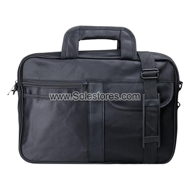 13' Laptop Document Bag - Black