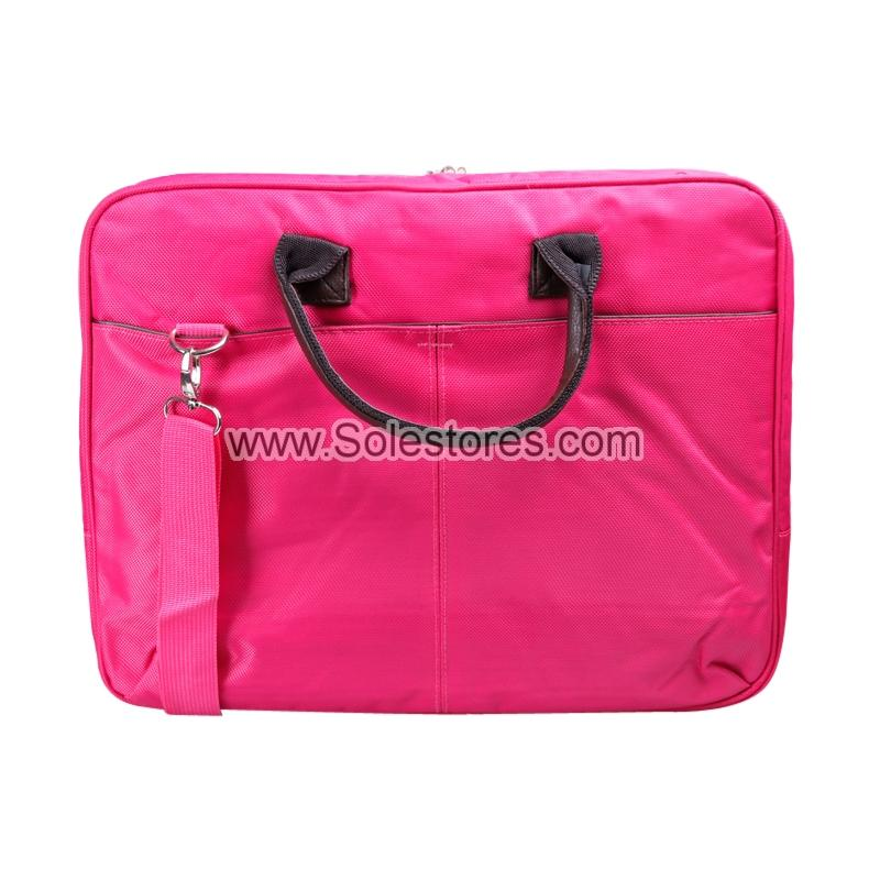 14' Laptop Document Bag (Pink)