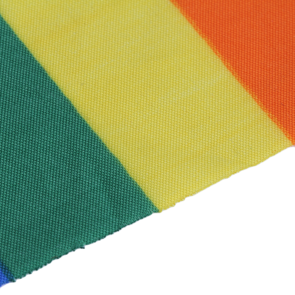 14 x 21cm Rainbow Flag Polyester for Lesbian Gay Bisexual Transgender