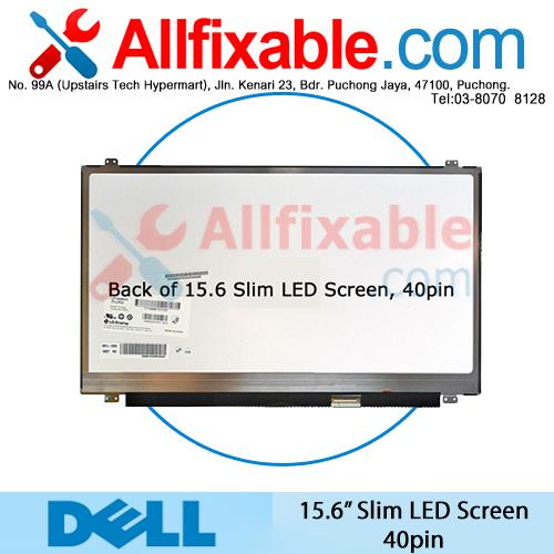 "15.6"" Slim LED (40pin) Screen For Dell Inspiron 15 15R"